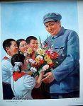 Children love Chairman Mao