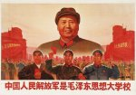 The People's Liberation Army is education in Mao Zedong Thought