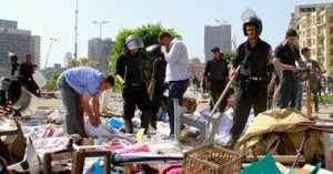 Egyptian military clears Tahrir Square tent city of sit-in protesters